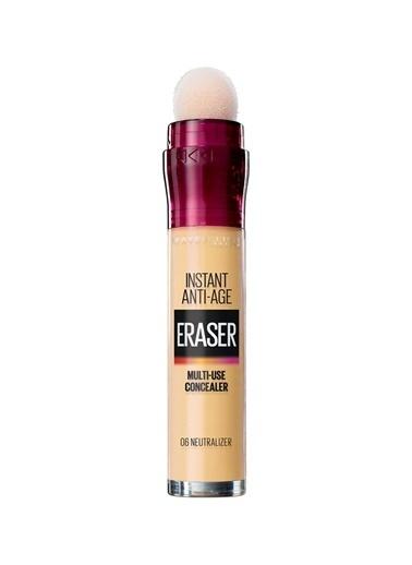 Maybelline Maybelline Instant Age Eraser Concealer 6 Neutralizer Kapatıcı Renksiz